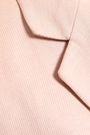 DONNA KARAN Linen and cotton-blend twill blazer