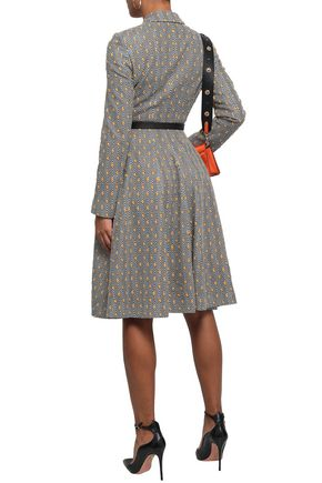 MISSONI Embroidered crochet-knit coat