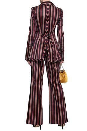 ZIMMERMANN Striped cotton-blend twill blazer