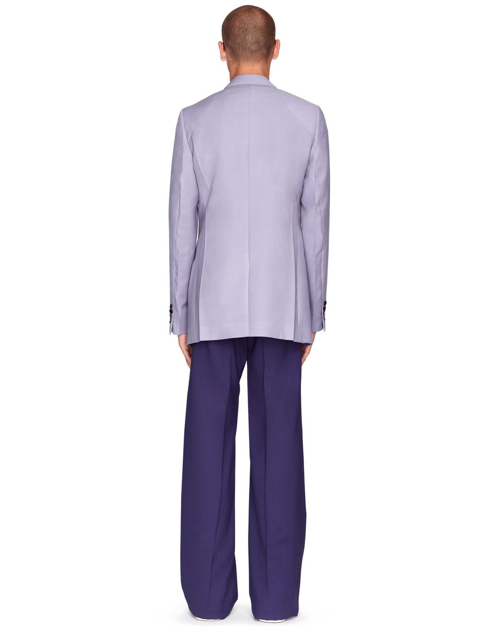 LONG LILAC JACKET     - Lanvin