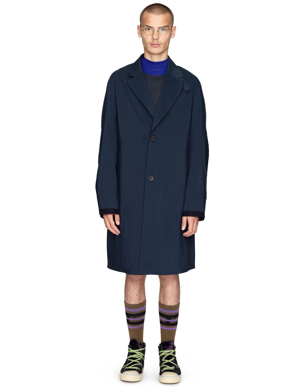OVERSIZED REVERSIBLE COAT    - Lanvin