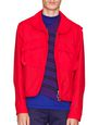 LANVIN Outerwear Man SHORT RED JACKET WITH LACING DETAILS   f