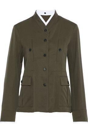 JIL SANDER Wool-twill jacket