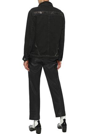 FRAME Le Studded denim jacket