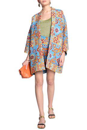 VALENTINO Metallic cotton-blend jacquard jacket