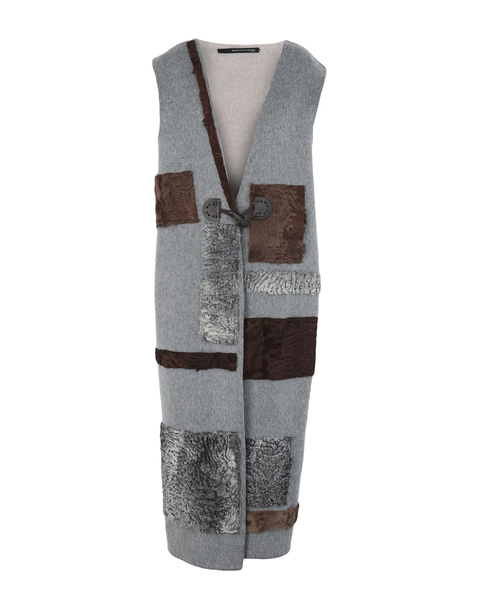 MAURIZIO PECORARO Пальто maurizio pecoraro юбка длиной 3 4