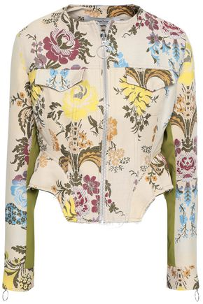 MARQUES' ALMEIDA Baroque cotton-blend brocade jacket
