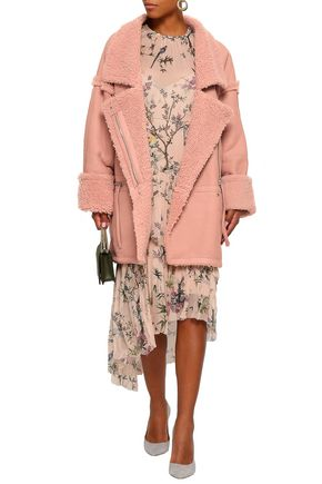 ZIMMERMANN Double-breasted shearling coat