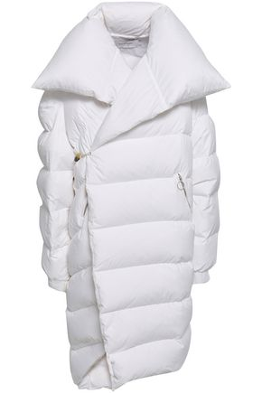 MARQUES' ALMEIDA Cutout quilted shell down coat