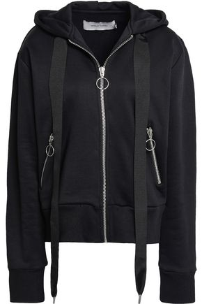 MARQUES' ALMEIDA Oversized French cotton-blend terry hoodie