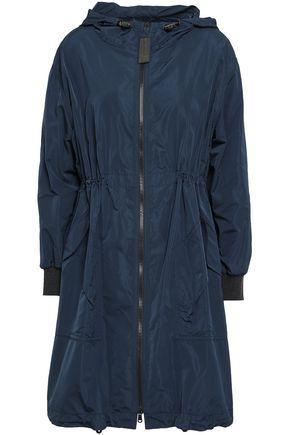 BRUNELLO CUCINELLI Bead-embellished shell hooded parka