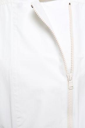 BRUNELLO CUCINELLI Bead-embellished taffeta hooded jacket
