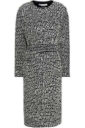 OSCAR DE LA RENTA Cotton-blend tweed coat