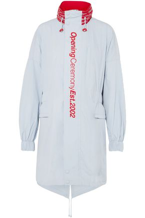 OPENING CEREMONY Embroidered printed shell parka