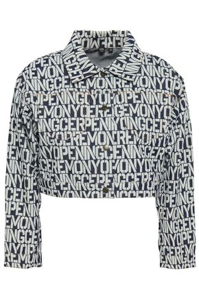OPENING CEREMONY Cropped printed cotton jacket