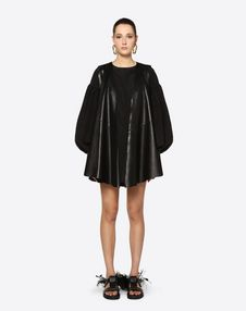 Leather Cape