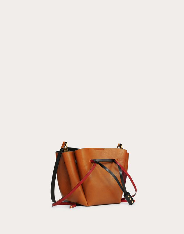 Medium VLOGO Calfskin Bucket Bag