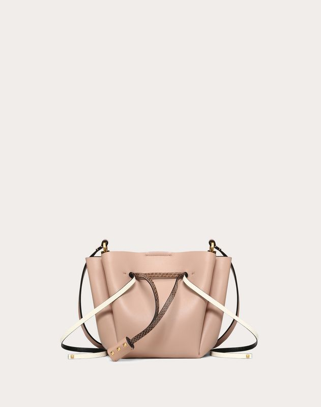 Medium VLOGO Bucket Bag