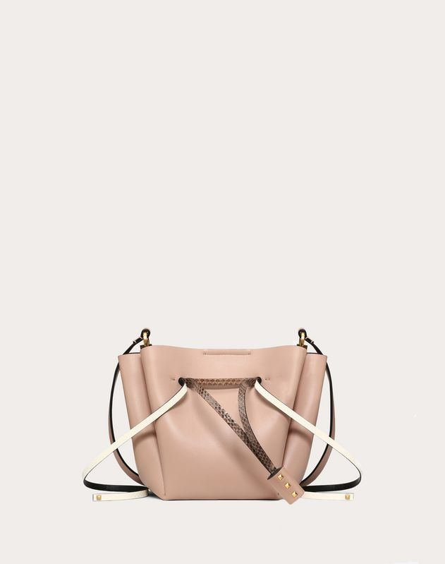 Medium VLOGO Ayers Bucket Bag