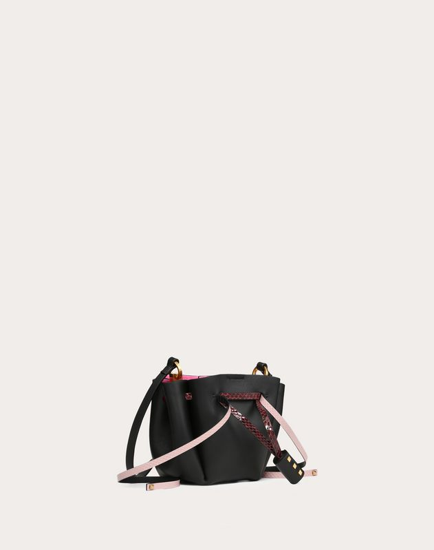 Small VLOGO Ayers Bucket Bag
