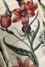 OSCAR DE LA RENTA Cutout floral-print silk and wool-blend jacket
