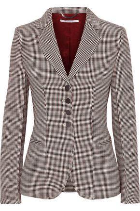 STELLA McCARTNEY Houndstooth wool blazer
