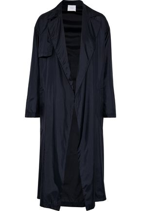 AGNONA Belted silk-shell jacket