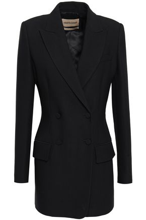 ROBERTO CAVALLI Double-breasted wool-blend twill blazer