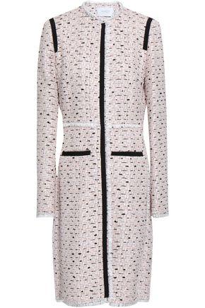 GIAMBATTISTA VALLI Frayed metallic cotton-blend tweed coat