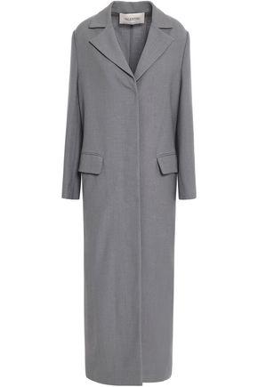 VALENTINO Virgin wool-canvas coat