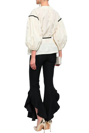 GIAMBATTISTA VALLI Shell peplum jacket