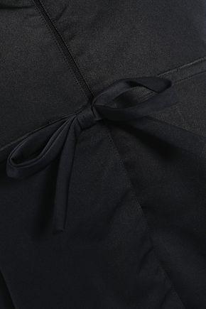 GIAMBATTISTA VALLI Bow-detailed satin jacket