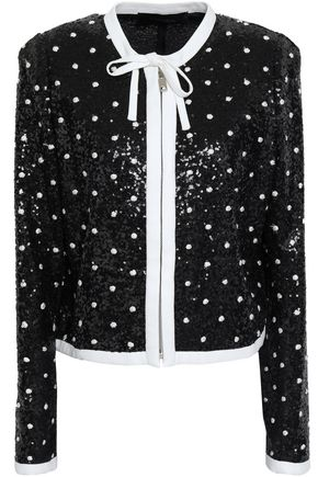 GIAMBATTISTA VALLI Embellished sequined jacket