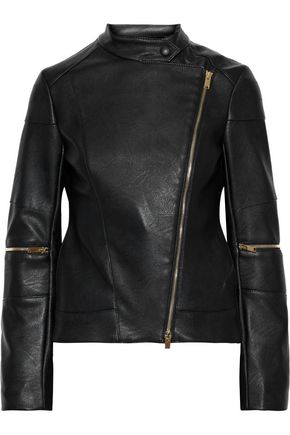 STELLA McCARTNEY Victoire faux leather biker jacket