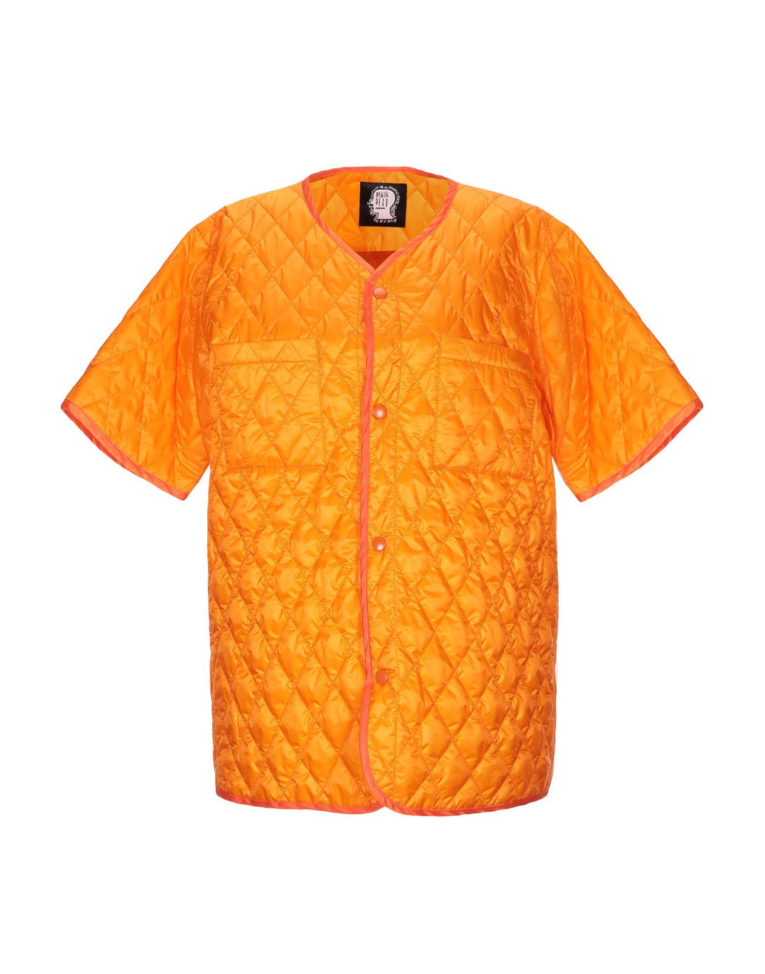 《送料無料》BRAIN DEAD レディース ブルゾン オレンジ M ナイロン 100%