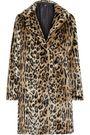 LINE Joan leopard-print faux fur coat
