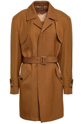 MAISON MARGIELA Wool and cotton-blend gabardine trench coat