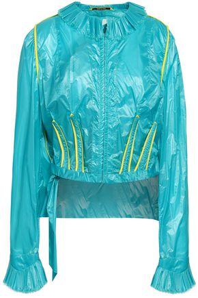 MAISON MARGIELA Frayed shell jacket