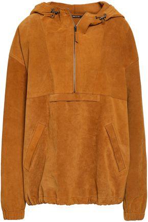 MAISON MARGIELA Suede hooded jacket