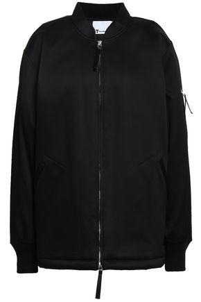 ALEXANDERWANG.T Oversized satin bomber jacket