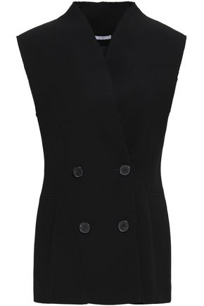 TOME Double-breasted wool-twill vest