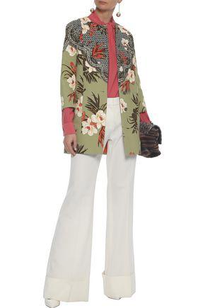 ETRO Printed cotton-canvas jacket