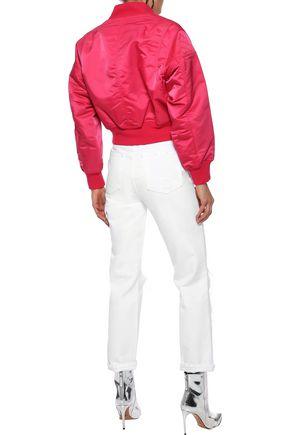 RAG & BONE Wesley quilted sateen bomber jacket