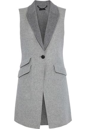 RAG & BONE Duchess wool and cashmere-blend vest