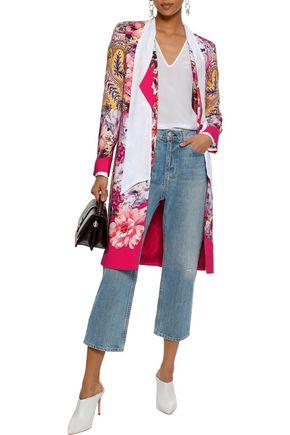 930c0716c385a ETRO Floral-print crepe coat