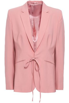 FILIPPA K Bow-detailed wool-blend blazer