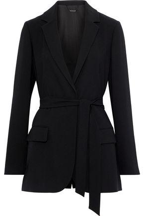 ELIE TAHARI Dikla belted crepe jacket