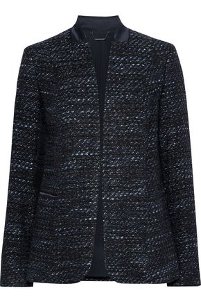 ELIE TAHARI Tori metallic bouclé-tweed jacket
