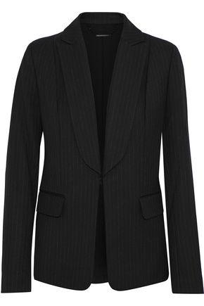 ELIE TAHARI Lorelei pinstriped twill blazer