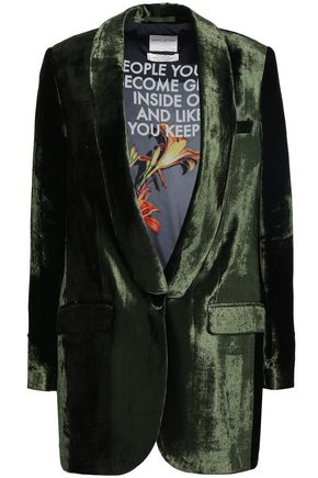 EACH X OTHER Velvet blazer